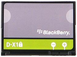 Aккумулятор оригинальный BlackBerry D-X1